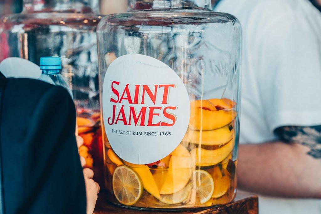 Saint James podczas Rum Love Festiwal