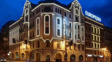 hotel europejski z zewnatrz