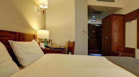 pokoj w hotelu piast