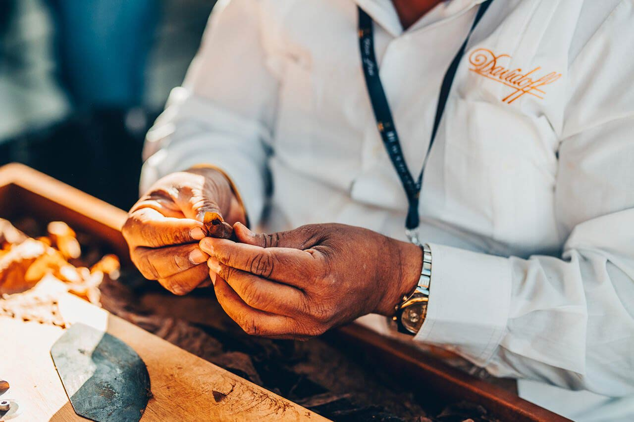 Davidoff produkcja cygara