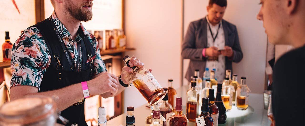 Foursquare stoisko na Rum Love Festiwal