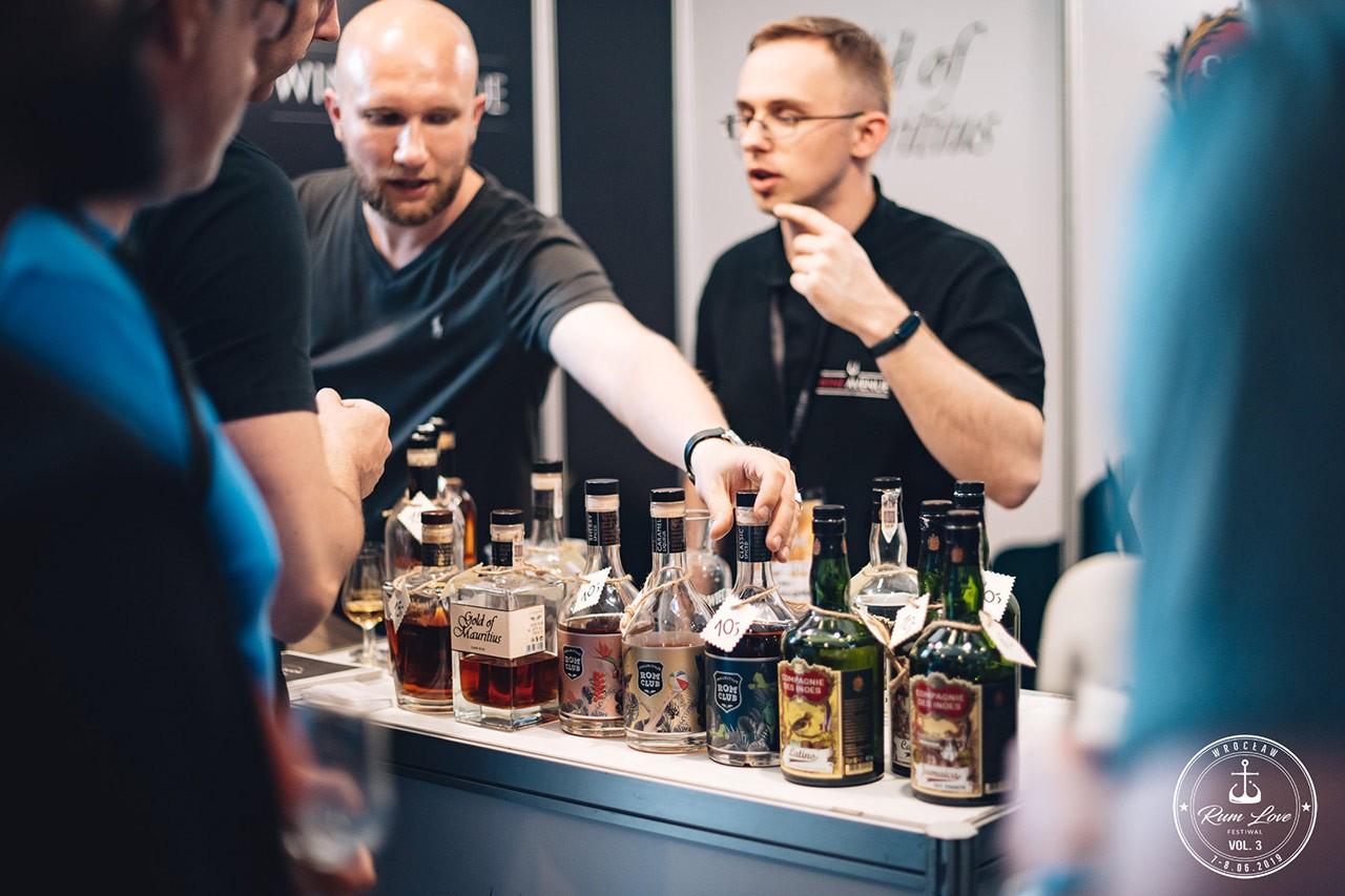 Rom Club stoisko na Rum Love Festiwal