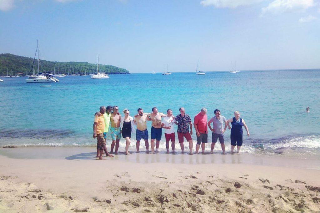 Plaża na Martinique