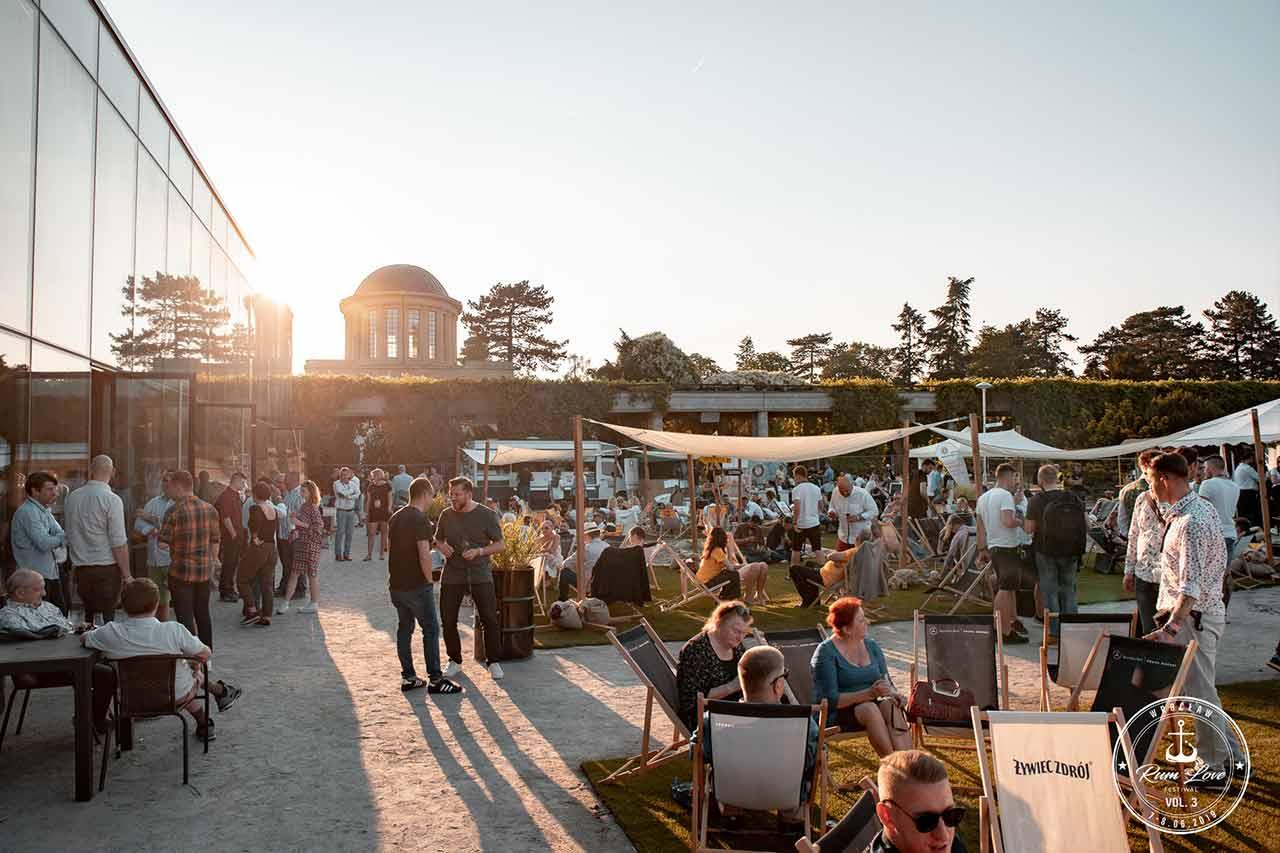 Rum Love Festiwal - taras zewnętrzny